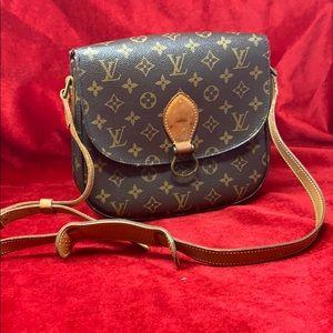 Authentic Louis Vuitton Saint Cloud gm crossbody